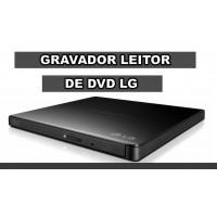 GRAVADOR DVD CD EXTERNO USB 2.0 ULTRA SLIM LG