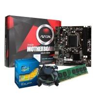 KIT UPGRADE INTEL CORE I5 - PLACA MÃE AFOX - 8GB RAM DDR3