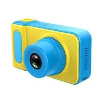 CAMERA FOTOGRAFICA DIGITAL INFANTIL CHILDRENS DIGITAL - 32GB 2MPX AMARELO E AZUL