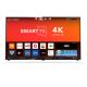 SMART TV 50 OAC 4K WIFI HDR BLUETOOTH QUAD CORE - PRATA