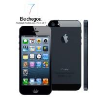 IPHONE 5 APPLE 16GB TELÃO DE 4' IOS 6 CAM 8MPX Touch Screen, Wi-Fi, 3G, GPS, MP3 e Bluetooth - COR PRETO