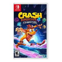 JOGO Nintendo Switch CRASH BANDICOOT 4 - CHEGOU A HORA - MIDIA FISICA