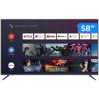 SMART TV 58 4K JVC C/ 3 USB WIFI BLUETOOTH HDR 4HDMI