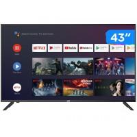 SMART TV LED FULL HD JVC - 43 POLEGADAS - C/ WIFI, BLUETOOTH E HDR