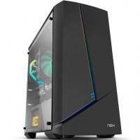 GABINETE GAMER NOX RGB - C/ 1 COOLER 120MM - LATERAL EM VIDRO