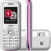 CELULAR 2 CHIPS  Câmera VGA, Rádio FM, MP3, Bluetooth e Fone
