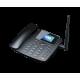 TELEFONE FIXO 4G PROELETRONIC - C/ IDENTIFICADOR DE CHAMADAS - PRETO