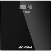 BALANÇA DIGITAL MONDIAL COM VISOR LCD - CAPACIDADE P/ 150KG - PRETA
