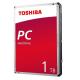 HD INTERNO 1TB TOSHIBA ALTA PERFORMANCE 3.5 SATA