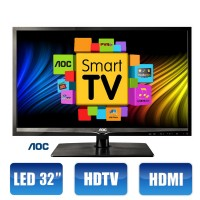 SMART TV AOC 32 LED CONVERSOR DIGITAL HMDI USB INTERNET