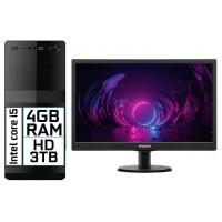 COMPUTADOR PC CORE I5 HD SSD 120GB WIN 10 TELA LED 18