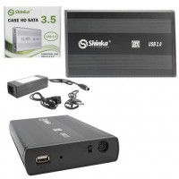 CASE HD 3.5 EXTERNA USB 3.0 SHINKA