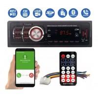 SOM AUTOMOTIVO MP3 PLAYER BLUETOOTH USB SD 100W CONTROLE REMOTO