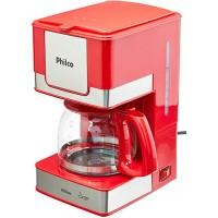 CAFETEIRA PHILCO RED INOX 15 CAFÉS 550W