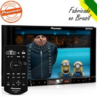 DVD AUTOMOTIVO PIONNER 2DIN Bluetooth USB SD Tela 7