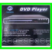 DVD PLAYER Usb Sd Karaokê Áudio 5.1 RODA VÍDEOS EM RMVB REAL PLAYER