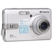 Câmera Digital Polaroid Preta, 8MP, Zoom 12x, à Bateria, PRATA