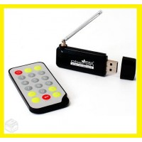 RECEPTOR DE TV DIGITAL USB PARA PC E NOTEBOOK