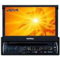 DVD PLAYER AUTOMOTIVO NAPOLI TV TELA 7 Bluetooth Usb
