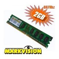PLACA DE MEMÓRIA 2GB DDR2 667MHz MARKVISION