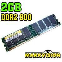PLACA DE MEMÓRIA 2GB NOTEBOOK 800 MHz DDR2 - MARKVISION