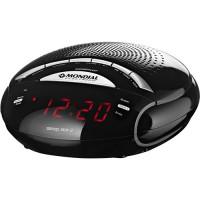 RADIO RELÓGIO MONDIAL COM ALARME AM/FM