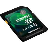 CARTAO DE MEMORIA SDXC CLASSE 10 KINGSTON - 128GB
