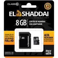 CARTAO DE MEMORIA SD/SDHC CLASSE 10 - 8GB ELSHADDAI