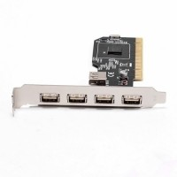 PLACA USB PCI 2.0 5 PORTAS