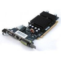 PLACA VIDEO AGP  512MB GEFORCE FX6200 128 BITS EVGA