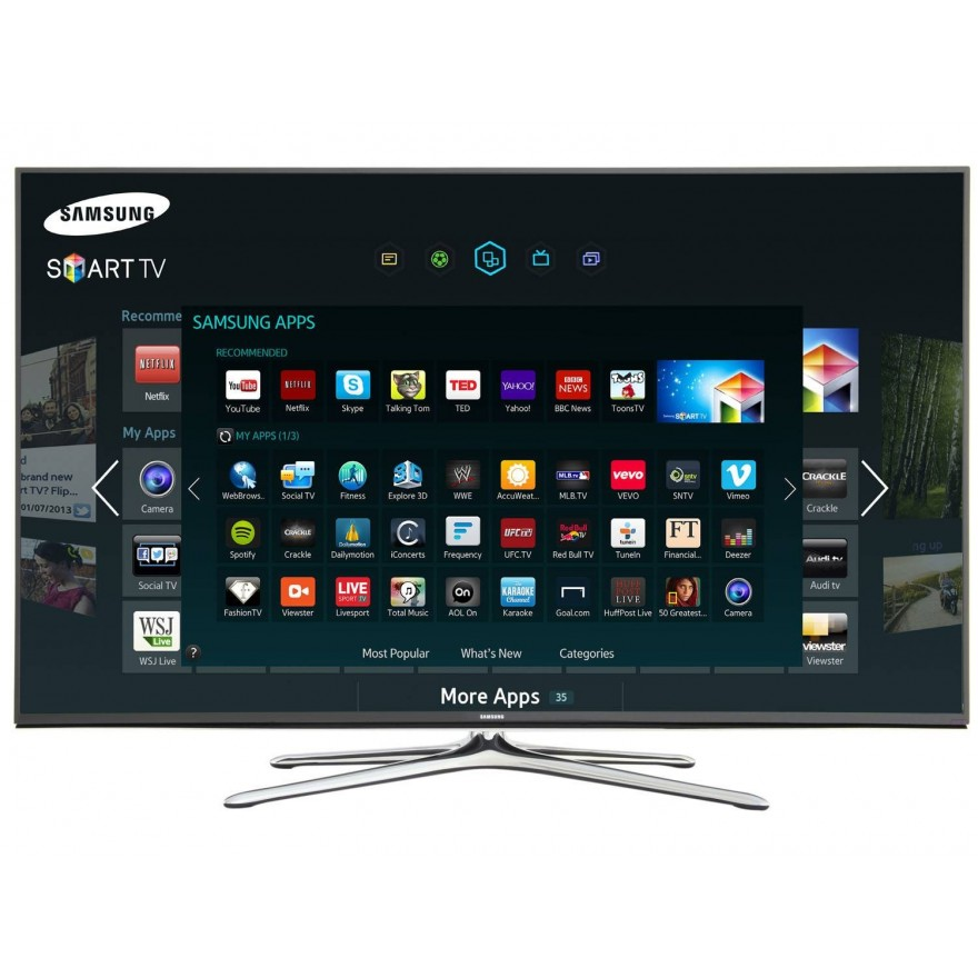 smart tv led 75 samsung un75h6300ag full hd conversor integrado 4 hdmi 3 usb wi fi. Black Bedroom Furniture Sets. Home Design Ideas