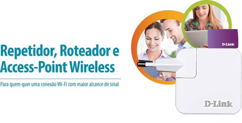 REPETIDOR DE SINAL WIFI DLINK 150 MBPS Fast Internet