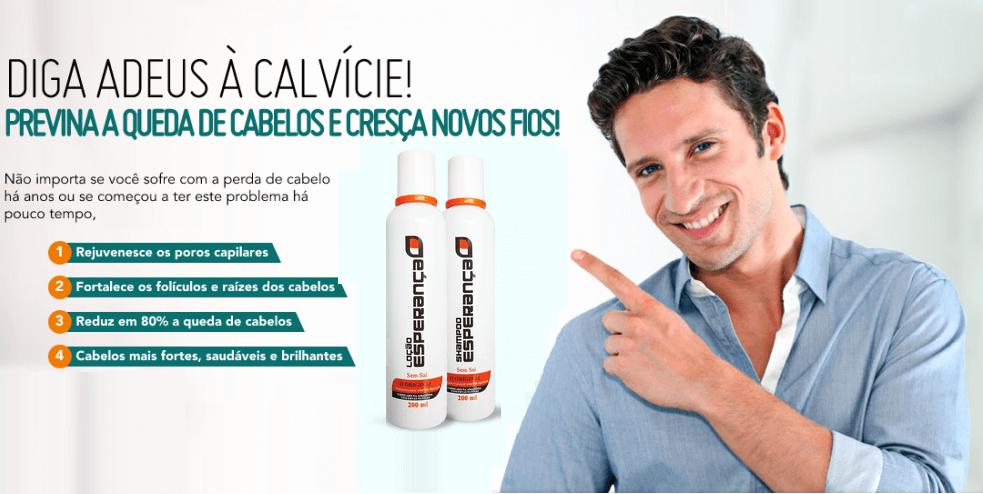 SHAMPOO CONTRA QUEDA DE CABELOS E TRATAMENTO PARA CALVÍCIE